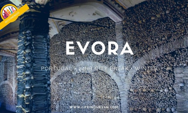 Visiting the unusual Bone Chapel at Evora in Alentejo, Portugal