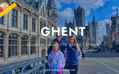 LifeinourVan City Reviews | Ghent | Belgium