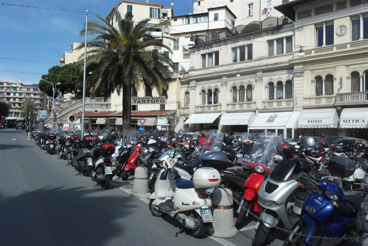 Cruising across from Genoa to Cinque Terre and onto Pisa