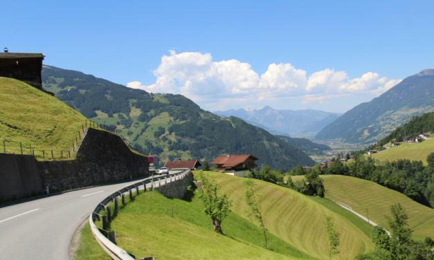 Austria | Taking the Gerlos Alpine Pass to Camping Aufenfeld