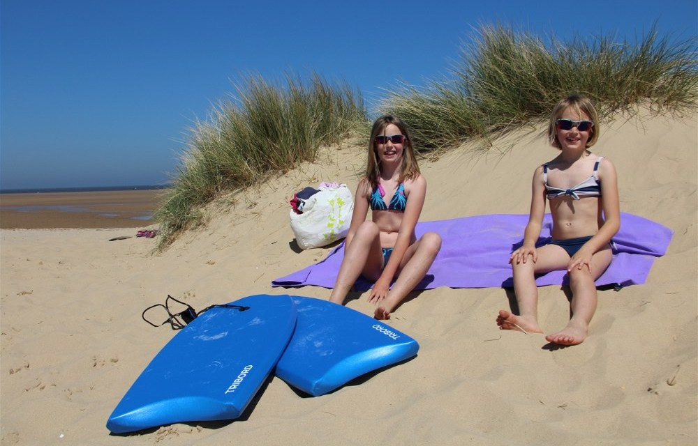 Motorhoming in Norfolk | Sizzlingly Hot Holkham Beach….