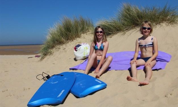 Motorhoming in Norfolk   Sizzlingly Hot Holkham Beach….