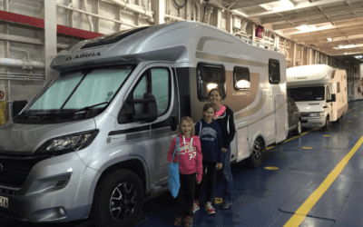 Sicily to Croatia by Motorhome | A double ferry day…