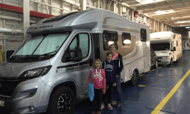 Sicily to Croatia by Motorhome   A double ferry day…