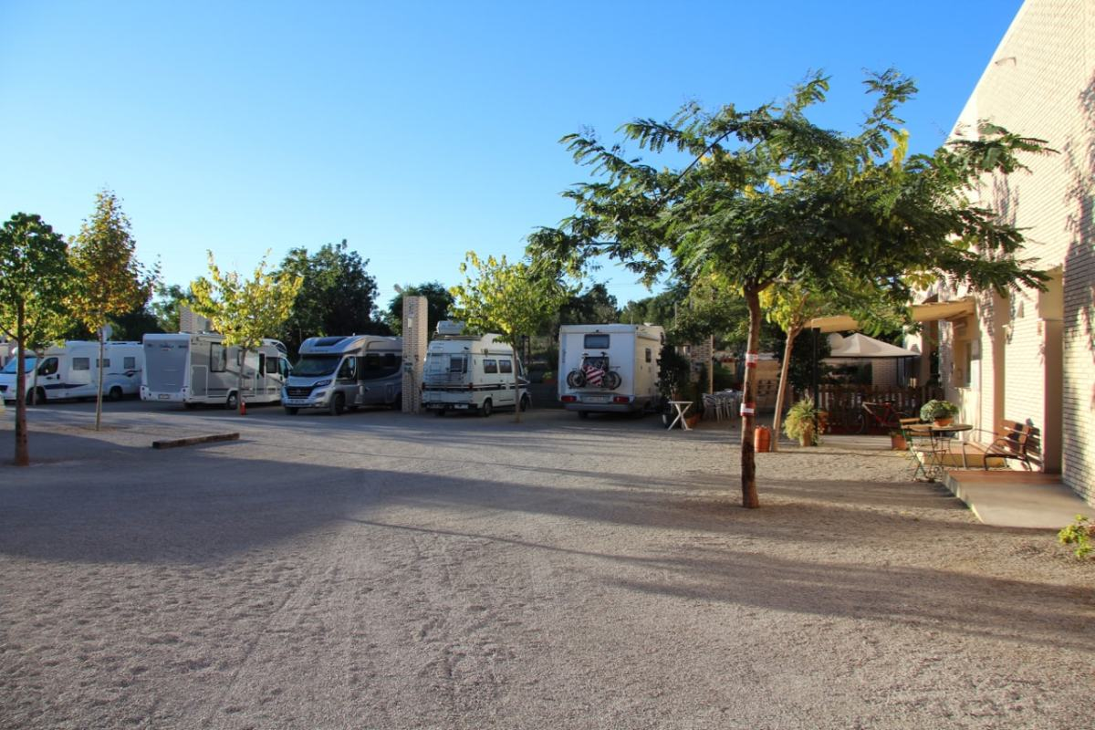 A Day of Rest at Valencia Camper Park