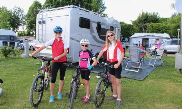 Germany   Exploring Wirthshof's family focused campsite..