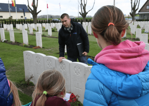 Ensuring our younger generation understand the sacrifices of previous generations in WW1
