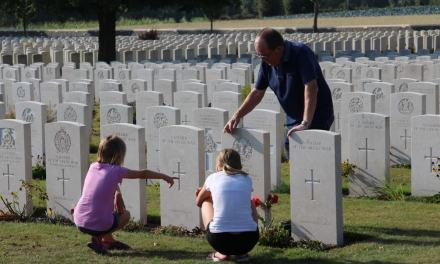 Visiting Ypres & the WW1 Graves | Educating all 3 generations about the sacrifices of so many…