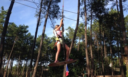 Motorhoming in France | High Ropes Adrenaline in Arcachon