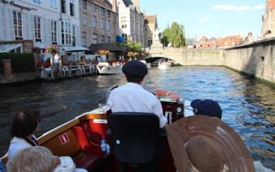 Visiting Bruges on it's Liberation Day (12 Sept)