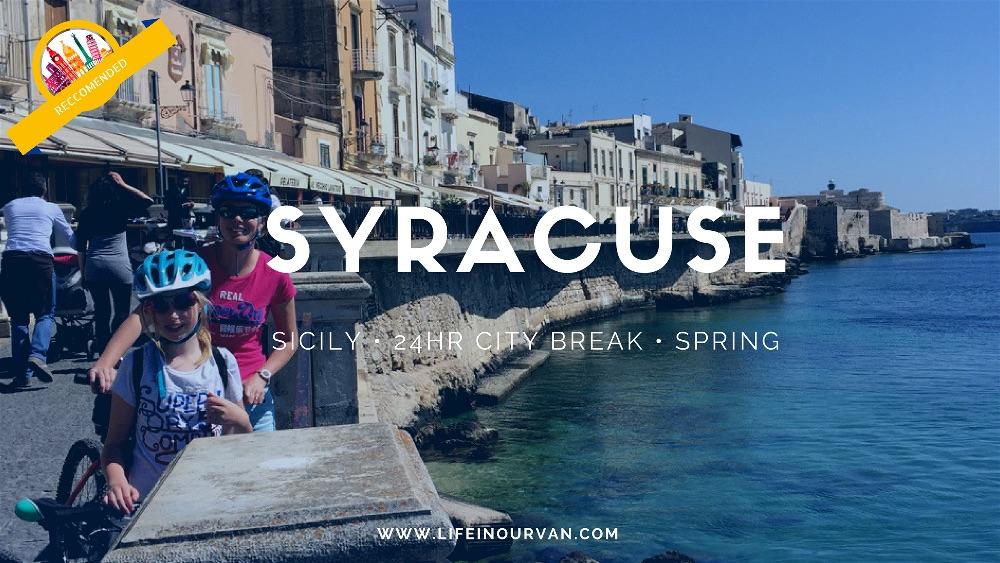 Motorhoming in Sicily   Stunning Syracuse…..