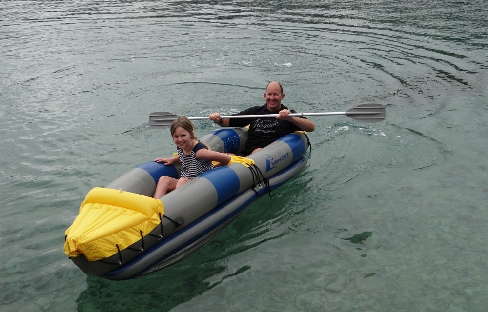 Turning a cloudy day, into a fun day in Trogir with Jay/Julie from OurTour
