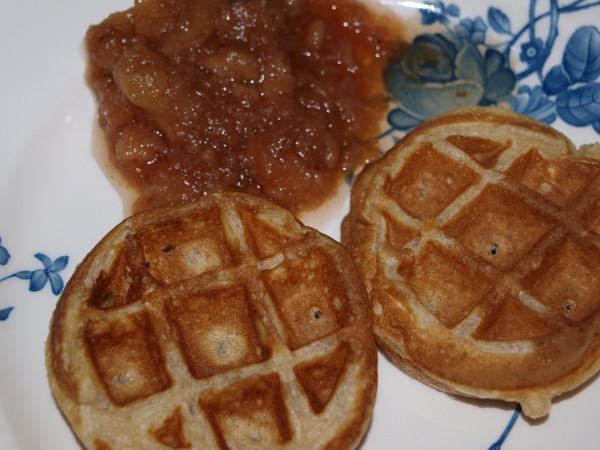 Cinnamon Belgian Waffles - Life In Pleasantville
