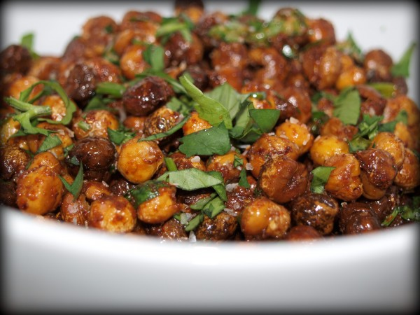 mexican roasted chickpeas