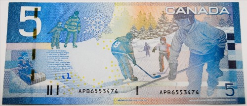 canadian $5