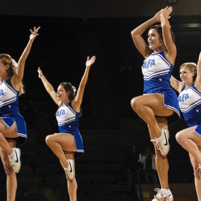 Far from Rah-Rah-Sis-Boom-Bah, Cheerleading Provides Hardcore Life Lessons