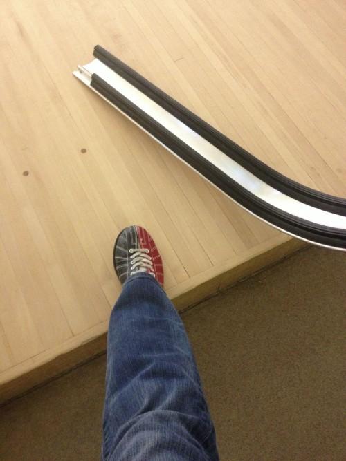 retro bowling shoes