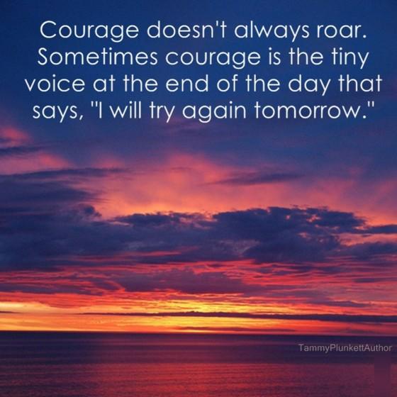 TBP courage