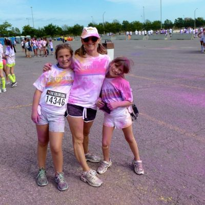The Color Run Makes Running Fun