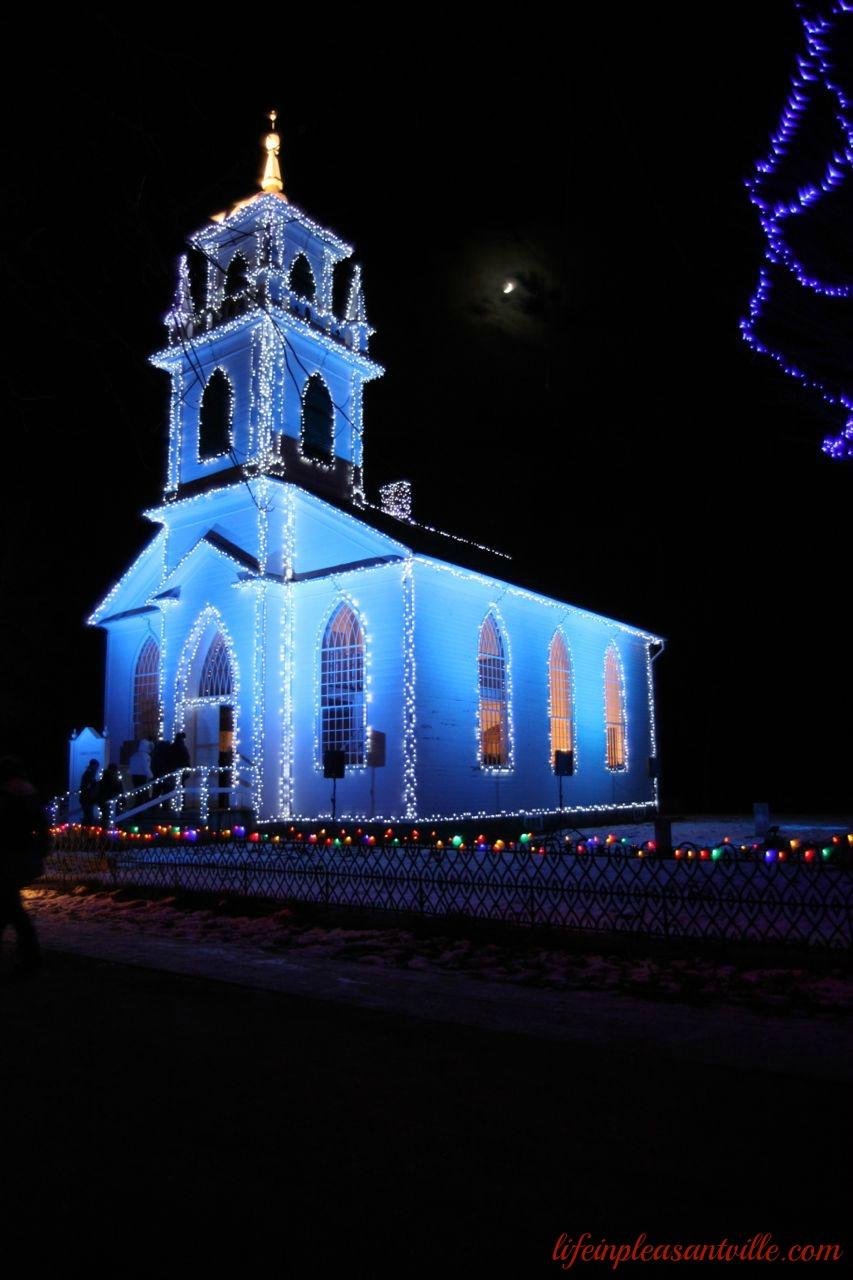 alight at night church