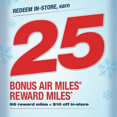 AIR MILES Cash Holiday Shopping