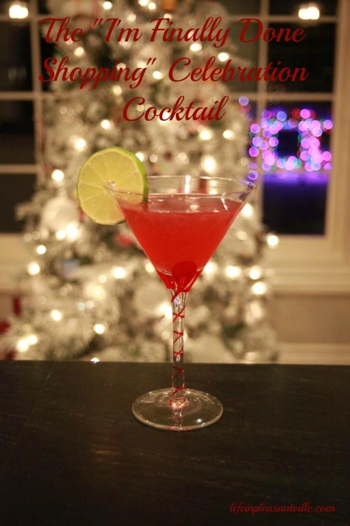 Cîroc peach martini