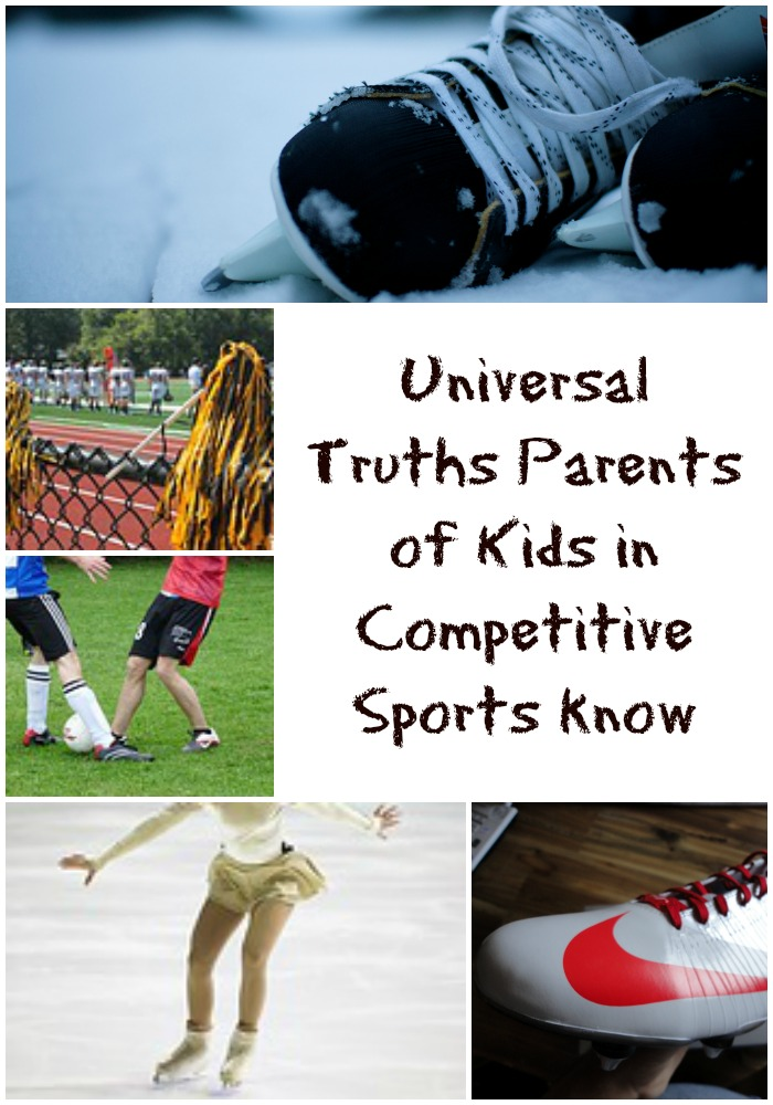kids in competitive sports