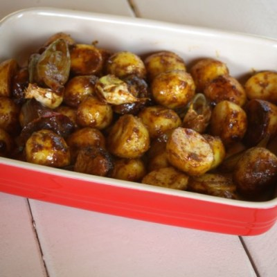 Foil Pack Bombay Potatoes