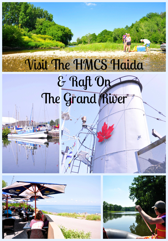 Rafting On The Grand River, HMCS Haida, Grand River, rafting, Barangas On The Beach, military ship, navy ship, WWII, Hamilton Harbour, Hamilton, Lake Ontario, restaurant, Blue Heron Rafting, Brantford