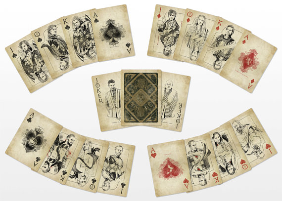Game of Thrones, cards, playing cards, summer travel essentials, games, fun