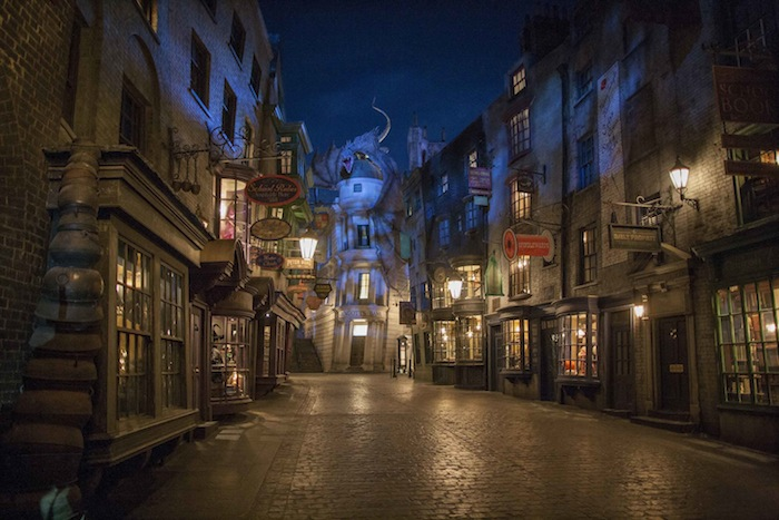 diagon alley opens