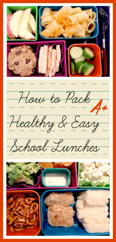 Making Kids School Lunches