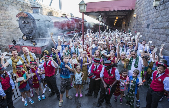 Hogwarts Express Millionth Rider Celebration