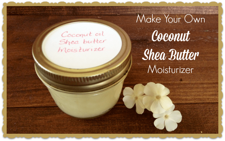 Making your own moisturizer