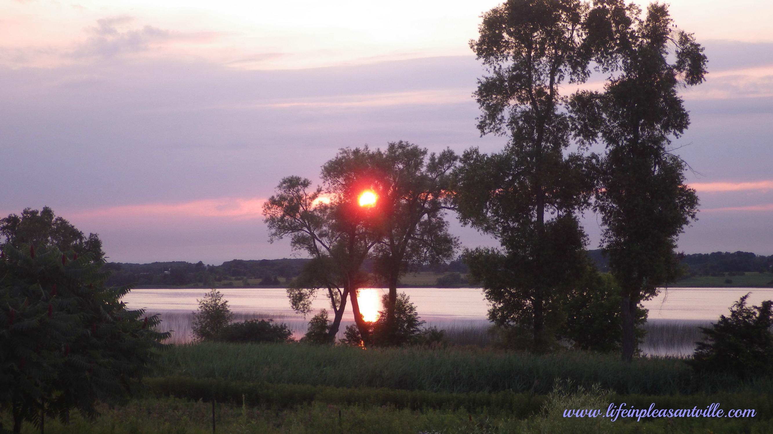 Prince edward county, Sunset at AWAY lifeinP