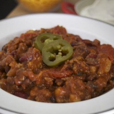 Big Ass Pot O' Chili Recipe