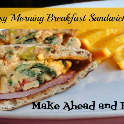 Busy Morning Breakfast Sandwich