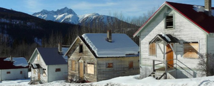 ghost towns, British Columbia, Canada, ghost towns of Canada, Bradian, abandoned