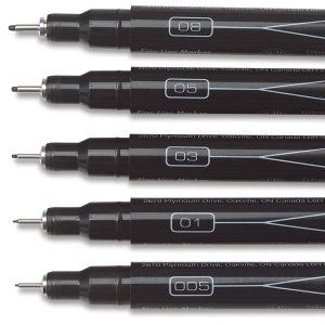 gifts for artists, Artists' pens