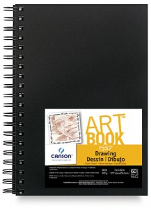 gifts fro artists, Sketch book