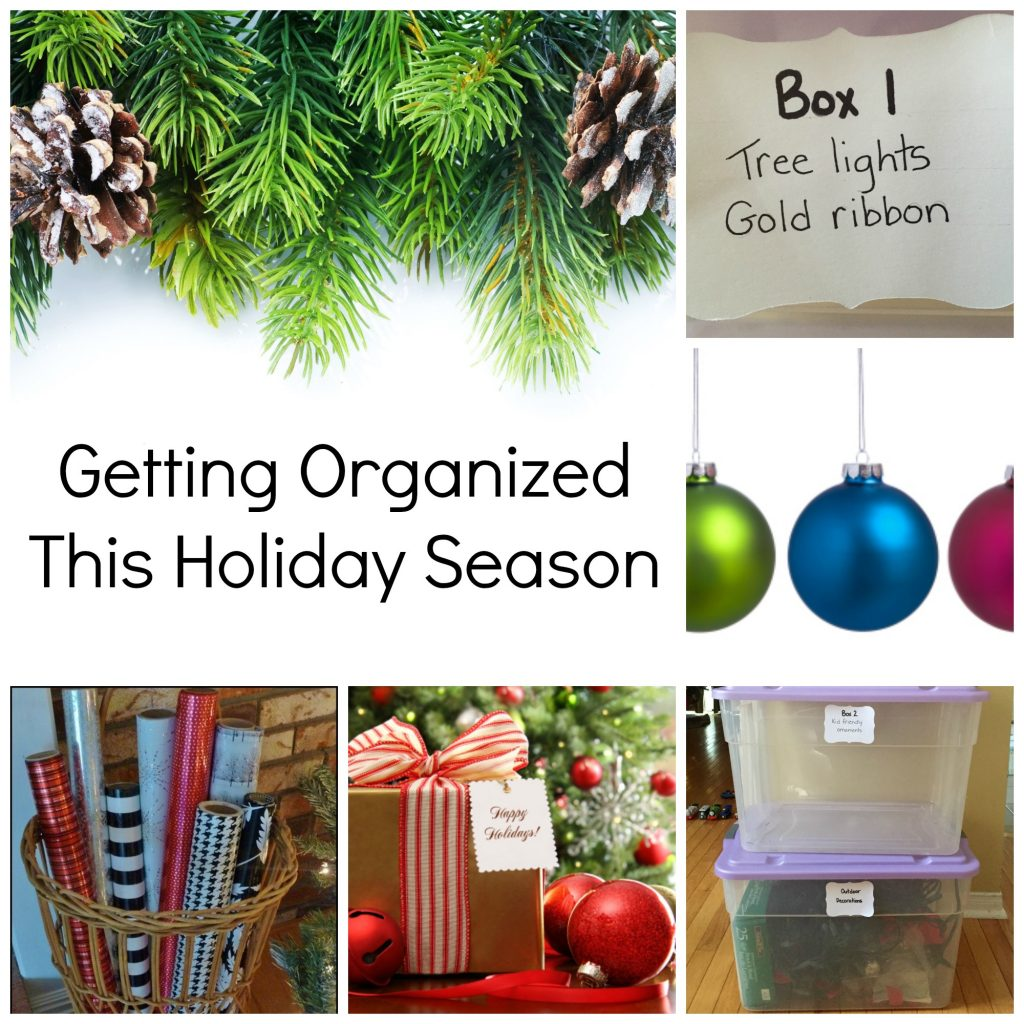 how to get organized for christmas, Getting organized this holiday season