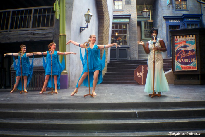 diagon alley universal,celestina warbeck diagon alley
