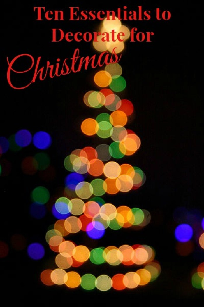 ten essentials to decorate for Christmas, christmas_hero
