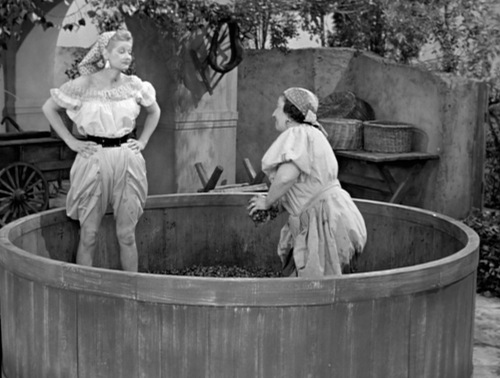 wine 101,i-love-lucy-grape-stomping