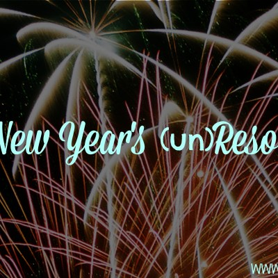 A New Year's Unresolution