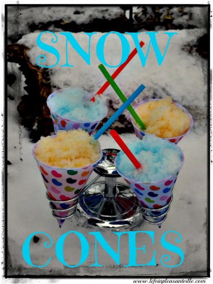 Real Snow Cones