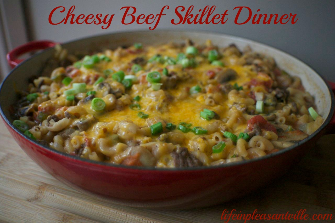 Cheesy Beef Skillet Dinner