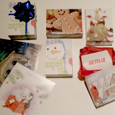 DIY Gift Boxes: Up-cycling Christmas Cards