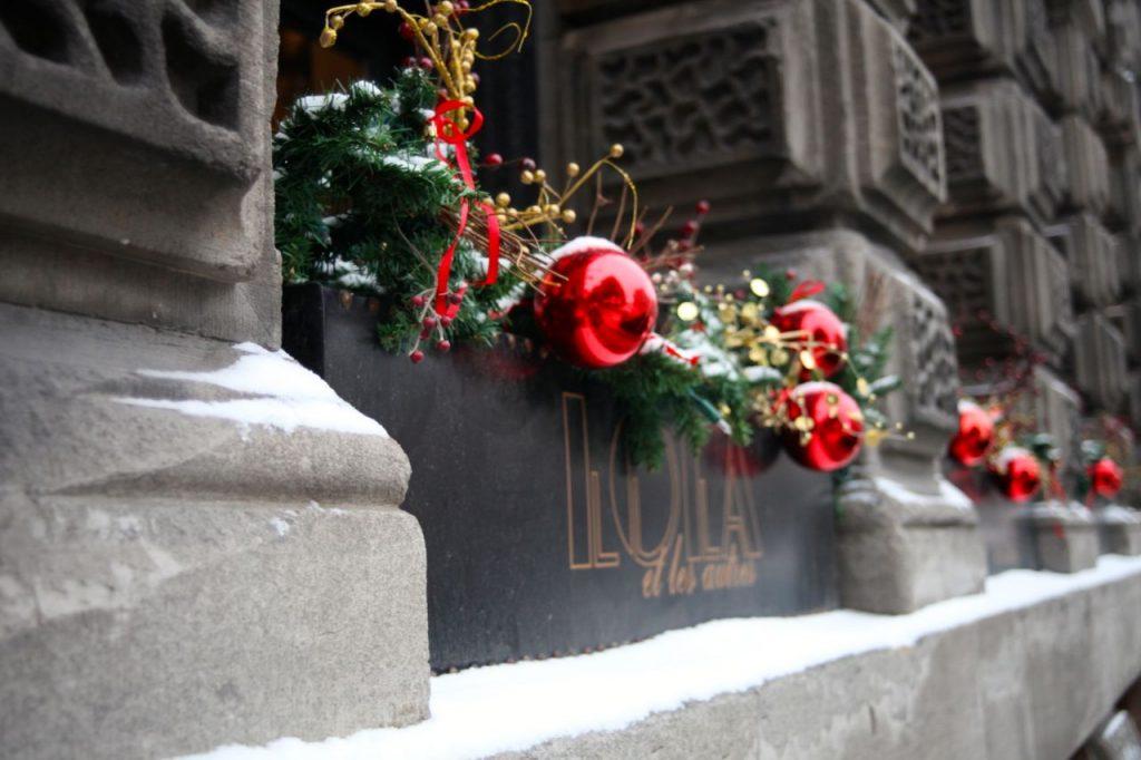 Winter Wonderland, old montreal