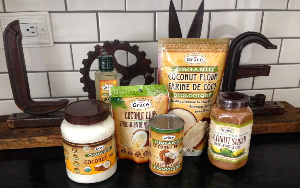 Jamaican Rice and Peas, Grace Foods, Organic Coconut products